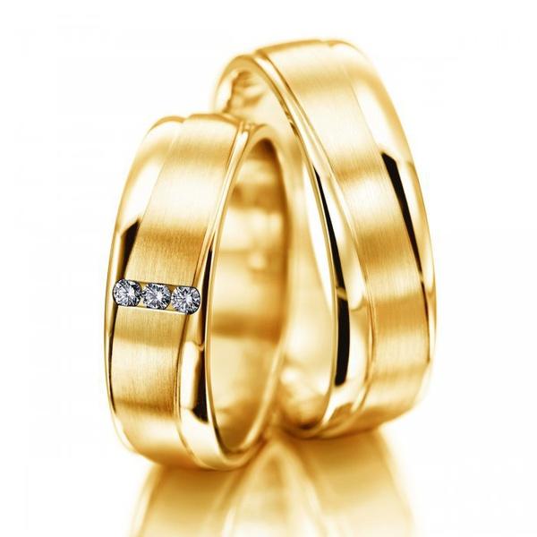 Aliança para Casamento em Ouro 18k