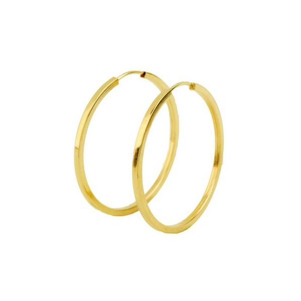 Brinco de Argola - Ouro 18k 750