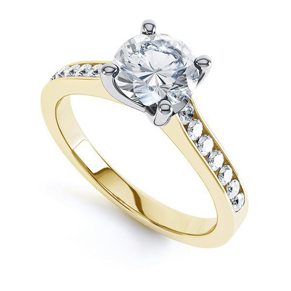 Solitário com Diamante de 45 Pontos