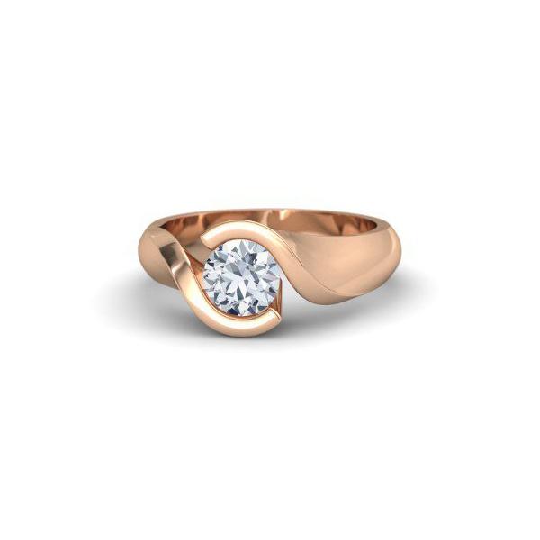 Solitário com Diamante de 40 Pontos