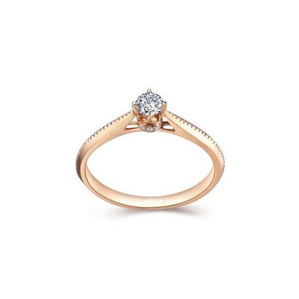Solitário com Diamantes de 25 Pontos