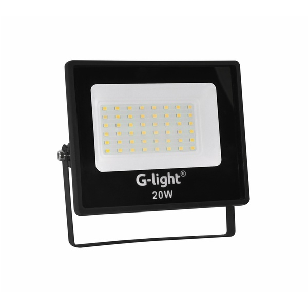Refletor Slim Ecoled 4GEN 20W 120 6500K- G- Light
