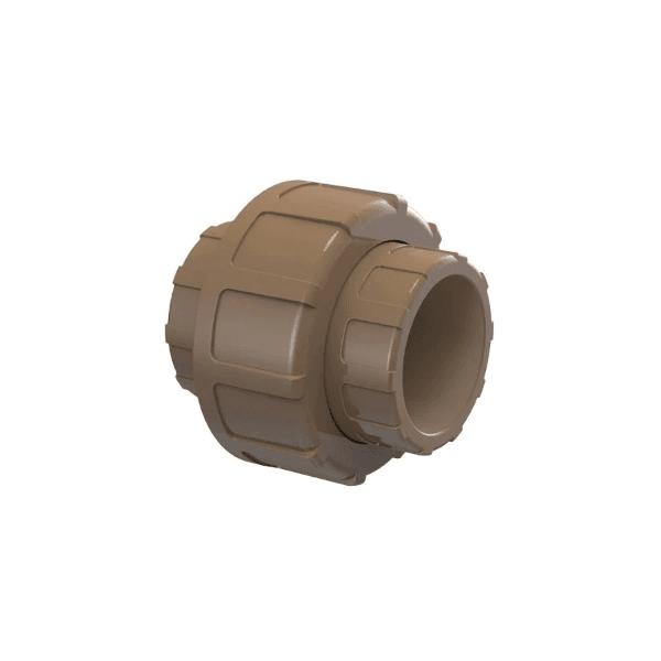 União Soldável 90º 50mm Marrom - Tigre