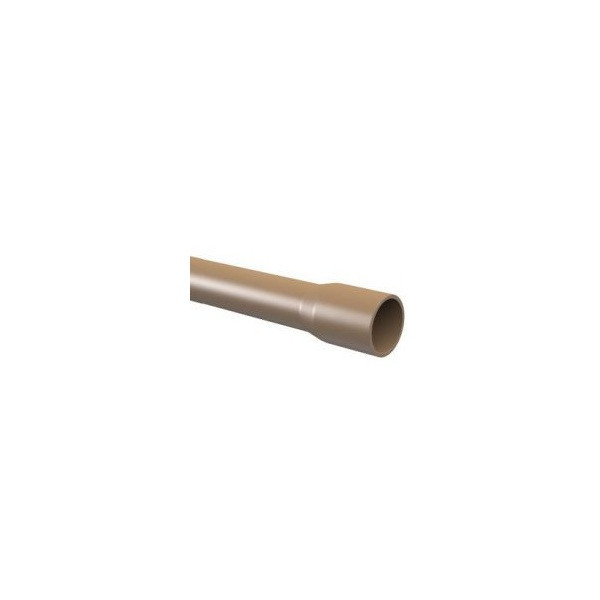 Tubo PVC Soldável 20mm Marrom - Tigre