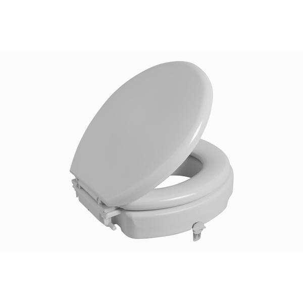 Assento Sanitário elevado c/ tampa - Astra