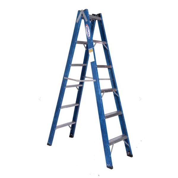 Escada Tesoura Dupla Premium 1,80mts 6 Degraus – WBertolo