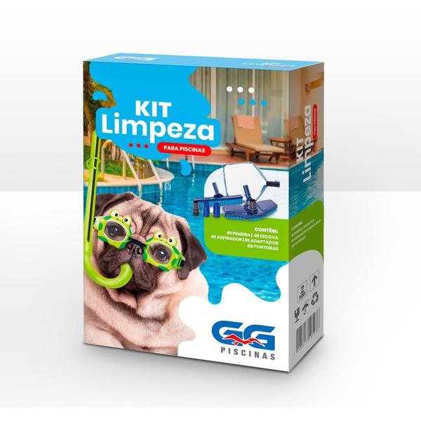 Kit limpeza para piscinas 6 peças – GG piscinas
