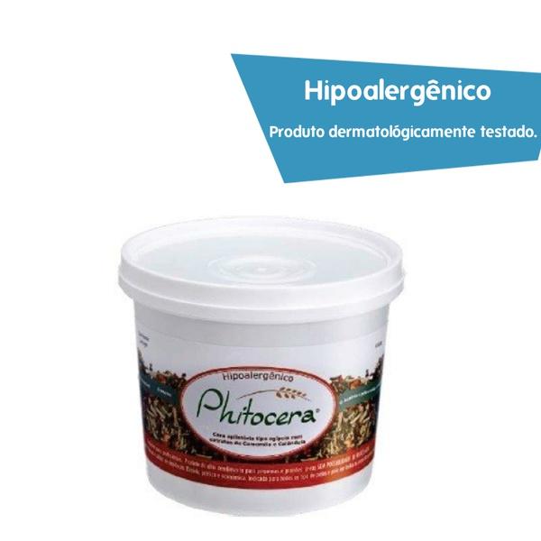 Cera profissional Egípcia Phitocera vegana 1kg