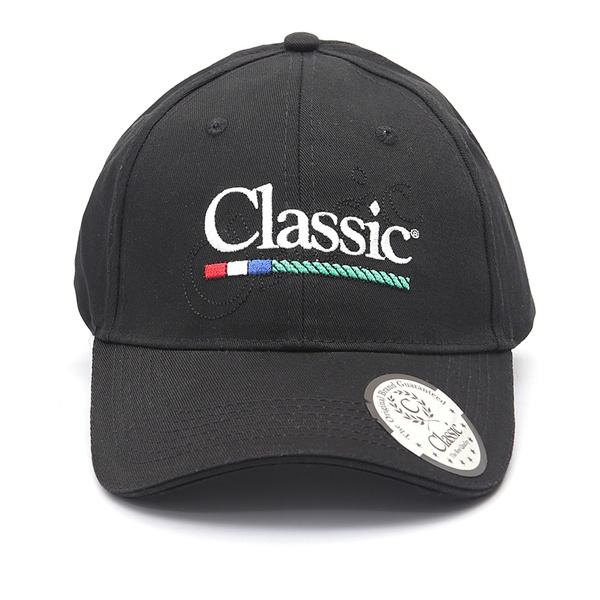 Boné Classic - Preto E Branco