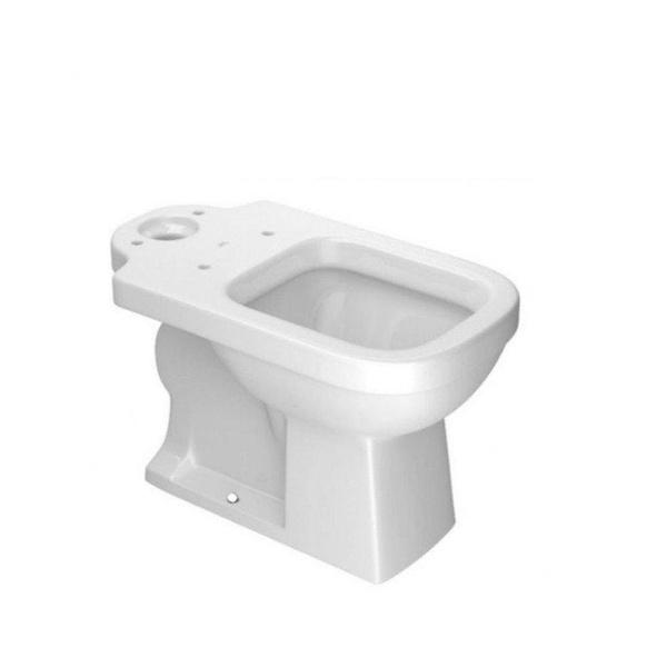 Bacia Deca para Caixa Acoplada Quadra Branco - P.210.17