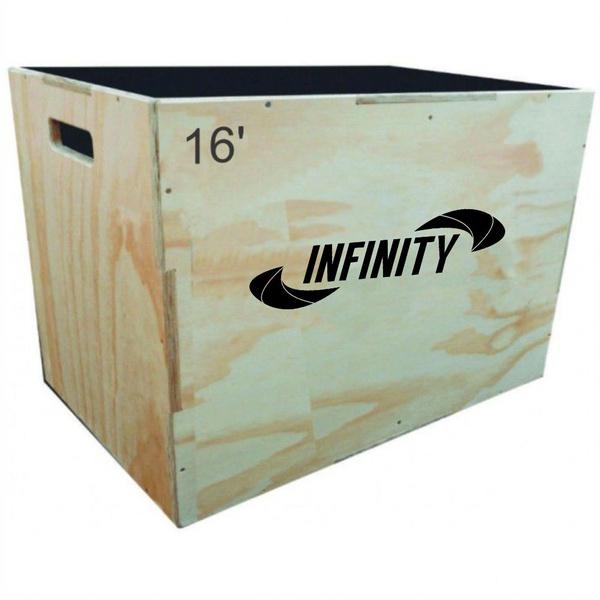 Caixote Plyo Box Crossfit 16' ONE LIFE - 40 X 35 X 45 CM