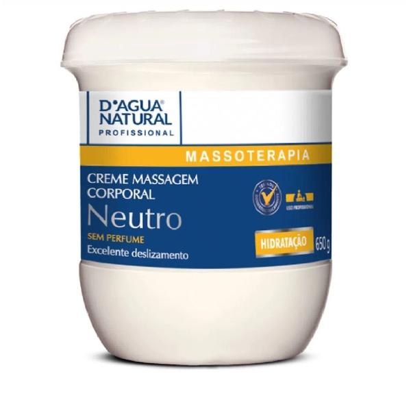 Creme de Massagem Neutro - 650g