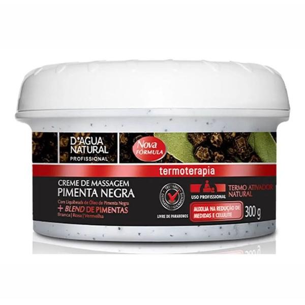 Creme de Massagem Pimenta Negra - 300g