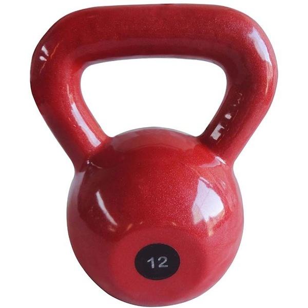 Kettlebell Emborrachado 12Kg - Infinity Fitness