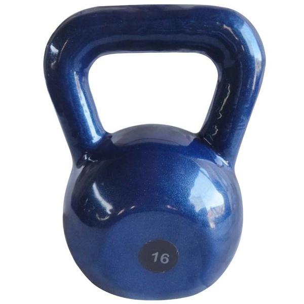 Kettlebell Emborrachado 16Kg - Infinity Fitness
