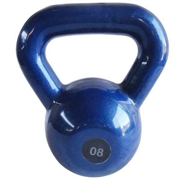Kettlebell Emborrachado 8Kg - Infinity Fitness