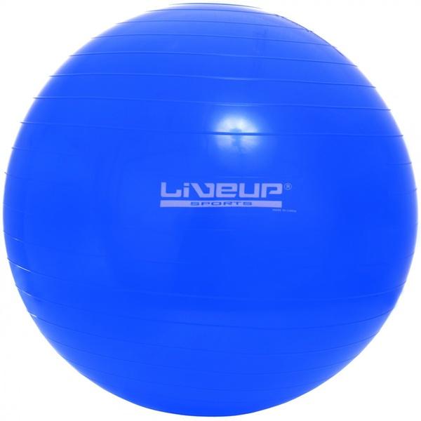 Bola Suíça de Exercícios e Pilates 65cm Live Up - Azul