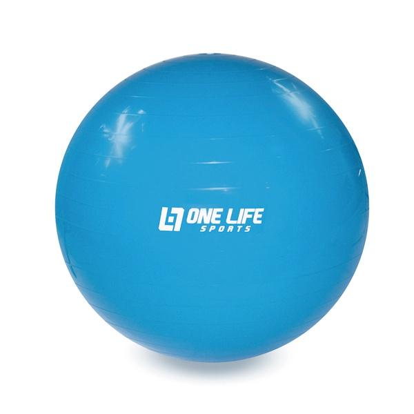 Bola Suiça Para Ginástica One Life 55 cm - Azul