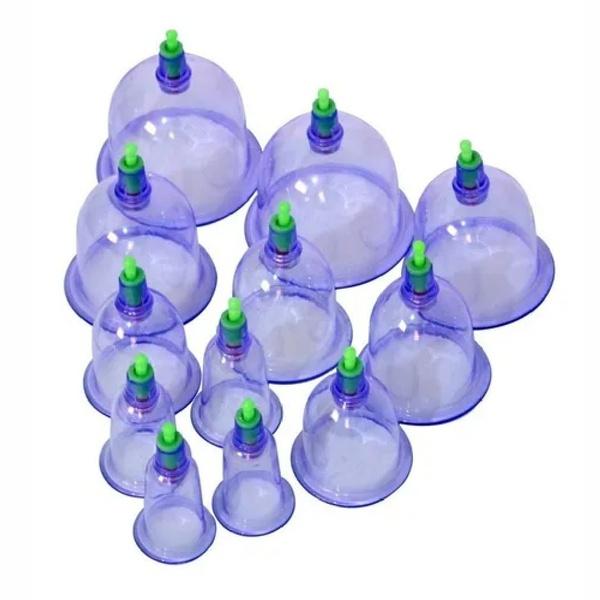 Kit Ventosa com 12 copinhos