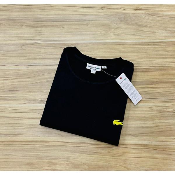 Camiseta Lacoste 3D Básica Preto