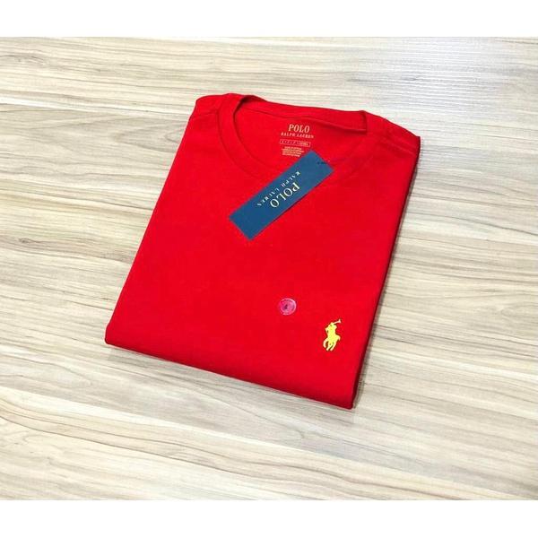 Camiseta Ralph L. Básica Vermelha a