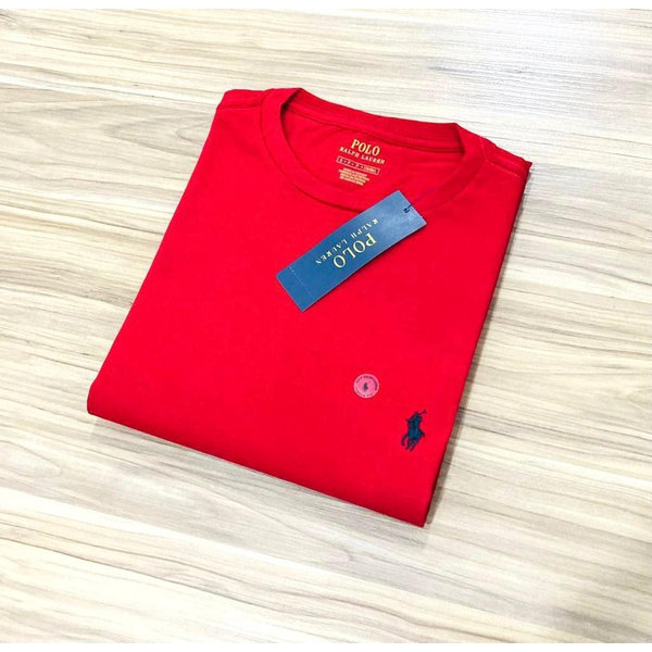 Camiseta Ralph L. Básica Vermelha p