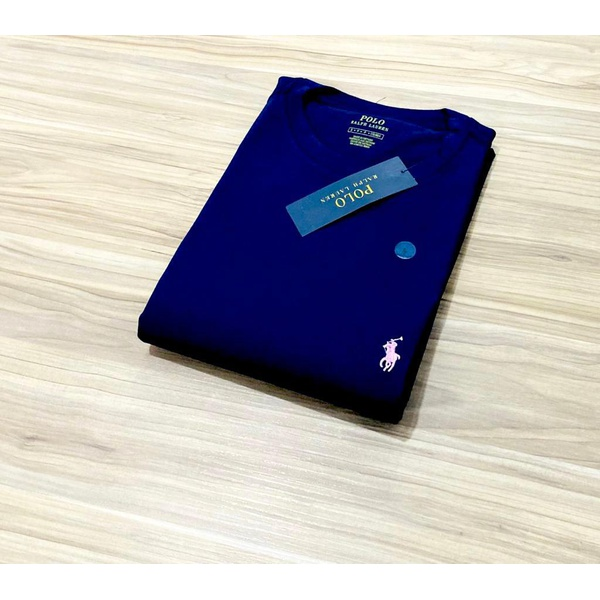 Camiseta Ralph L. Básica Azul Marinho r