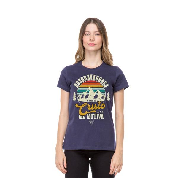 Camiseta baby Look O Amor de Cristo de Motiva
