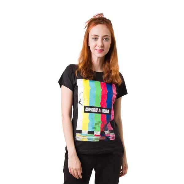 Camiseta Baby Look Offline