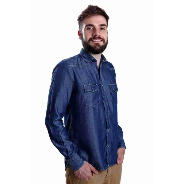 Camisa Jeans Geração 148 Masculina