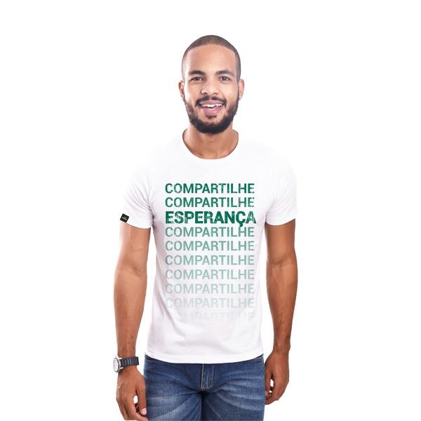 Camiseta Compartilhe Esperança