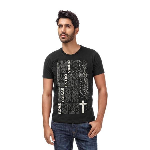 Camiseta Boas Coisas Preta