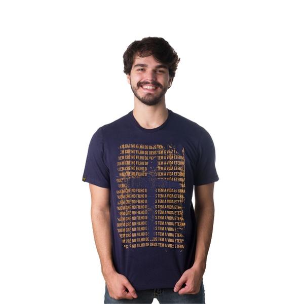 Camiseta Filho de Deus Azul Marinho