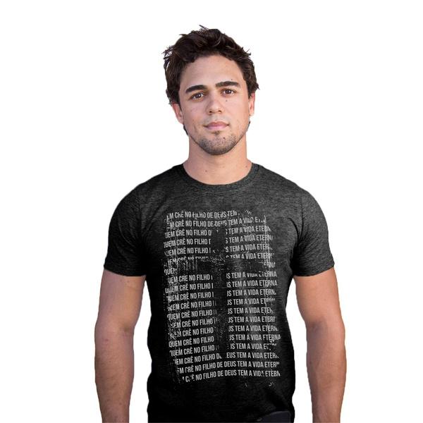 Camiseta Filho de Deus Cinza Mescla