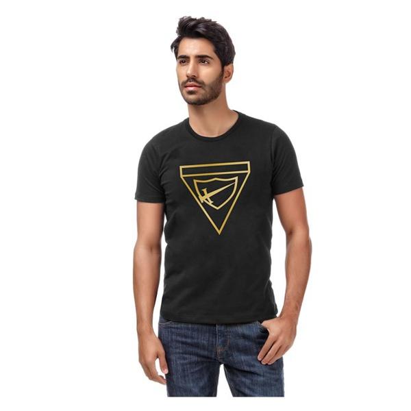 Camiseta Bordada na Cor Dourada DBV