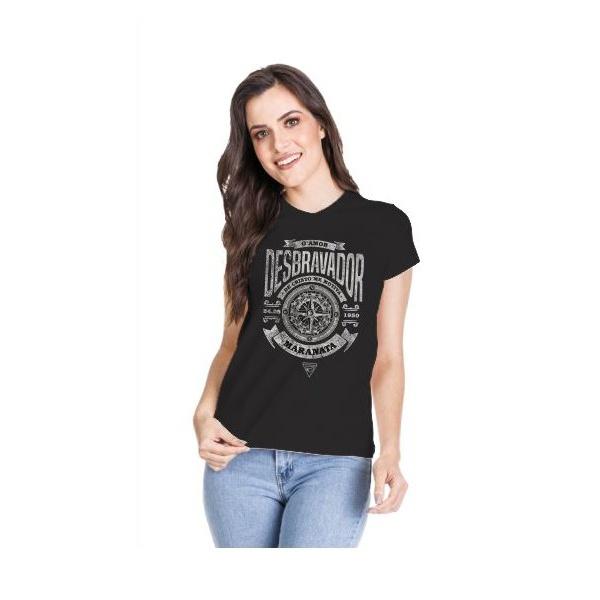 Camiseta Baby Look Desbravador Bússola