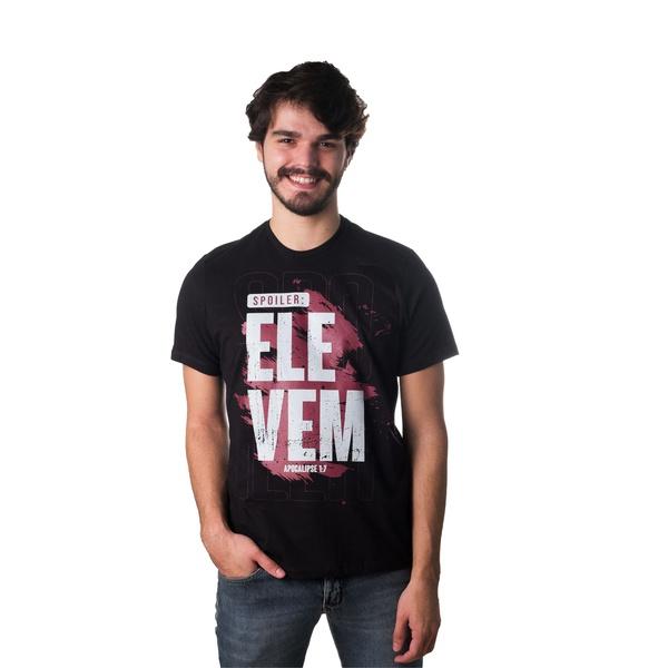 Camiseta Spoiler Ele Vem