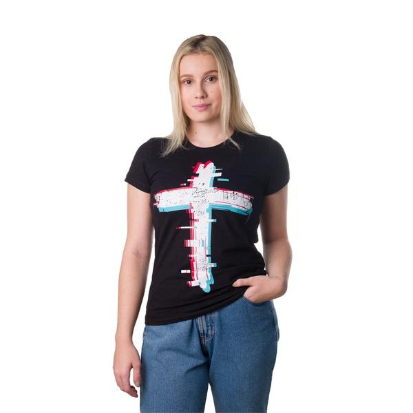Camiseta Baby Look Cruz