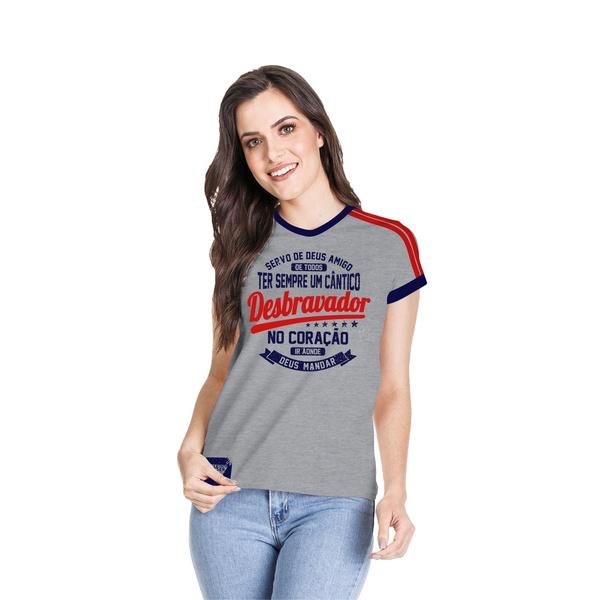 Camiseta Baby Look Desbravador