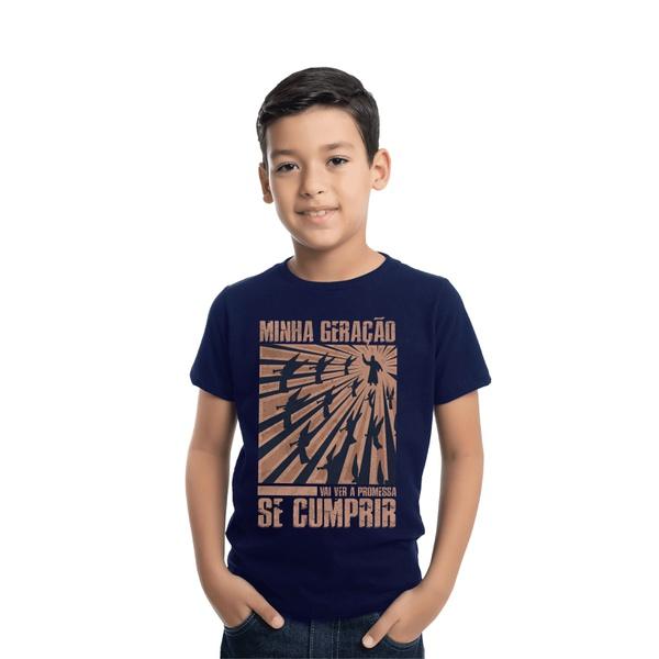 Camiseta Infantil Minha Geração