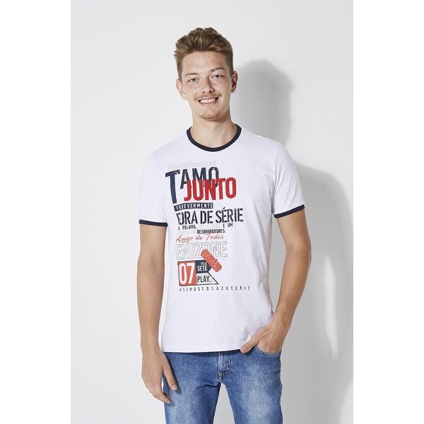 Camiseta Fora de Série Tamo Junto