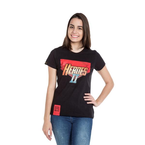 Camiseta Baby Look Heroes