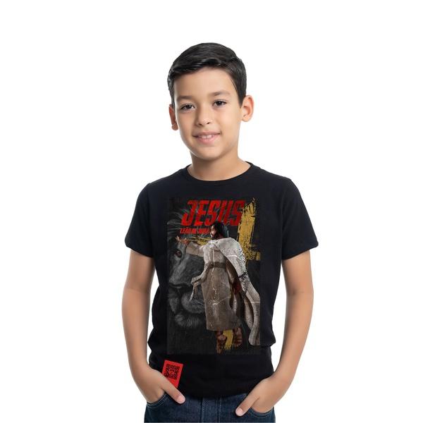 Camiseta Infantil Heroes Jesus