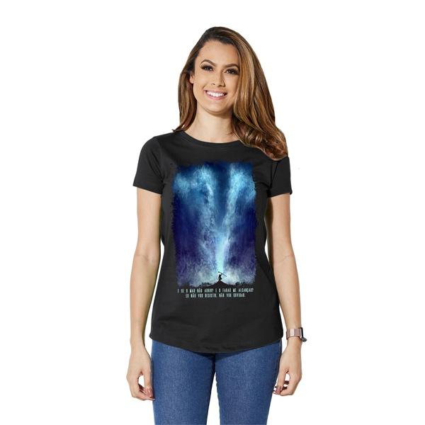 Camiseta Long Baby Look E Se