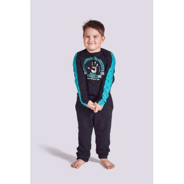 Pijama Infantil Calebe Manga Longa