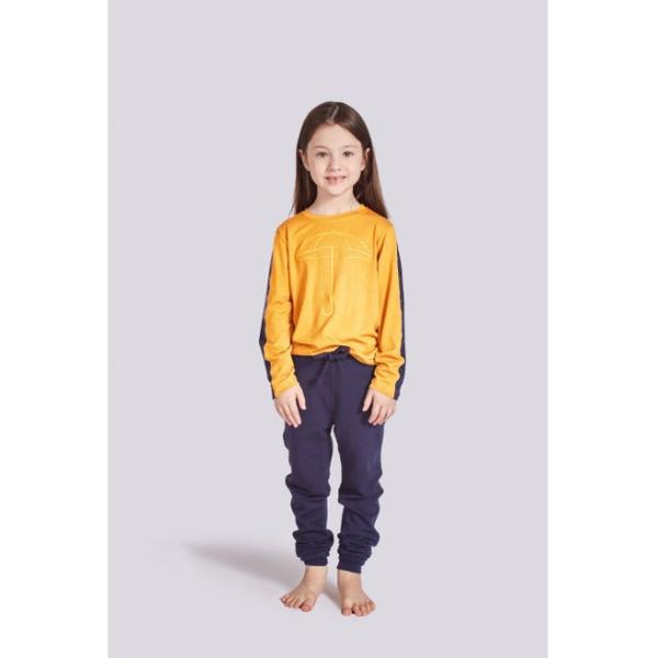 Pijama Infantil Temporal Manga Longa