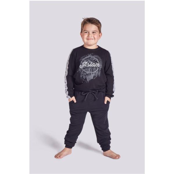 Pijama Infantil Aslam Manga Longa