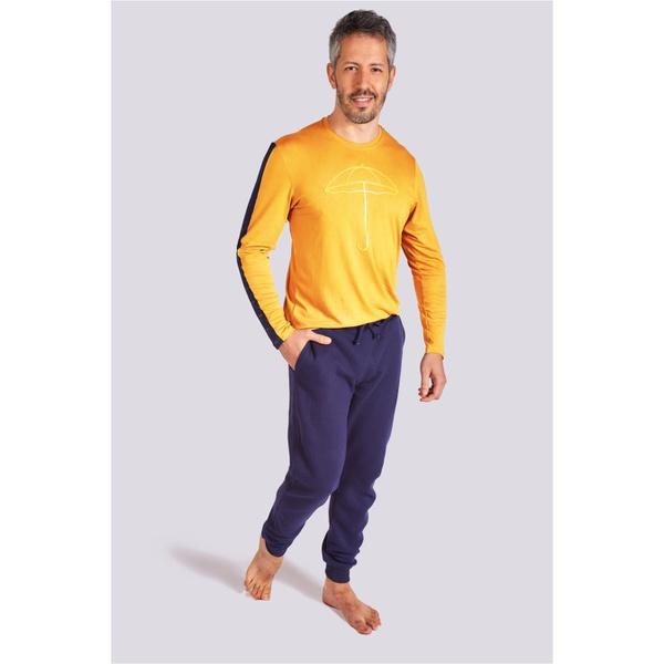 Pijama Masculino Temporal Manga Longa