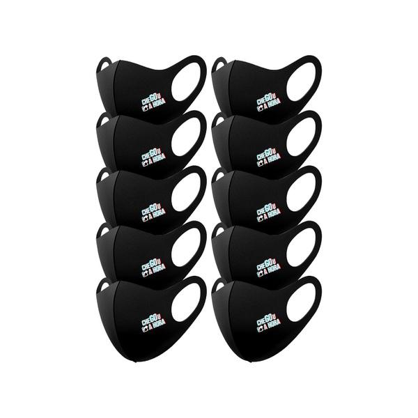 Kit 10 Máscaras Chegou a Hora