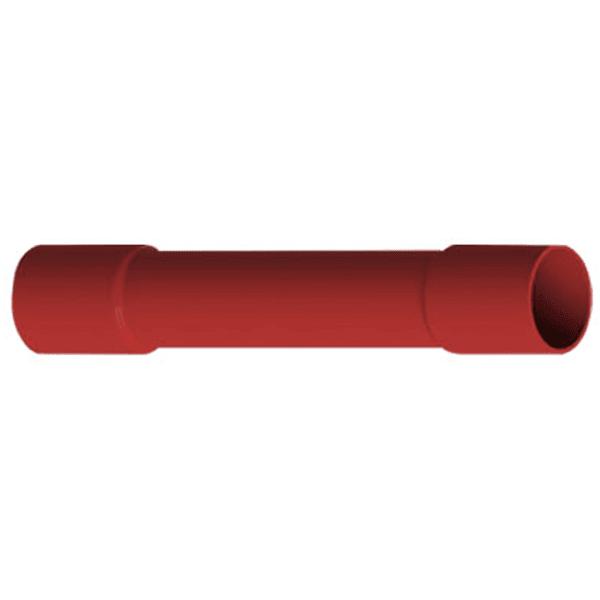Luva de Emenda à Compressão Isolada – LEP - 1,5 Vermelha Intelli
